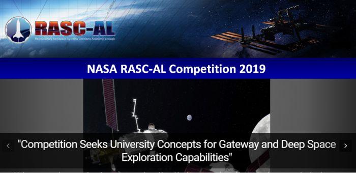 NASA RASC-AL Competition 2019