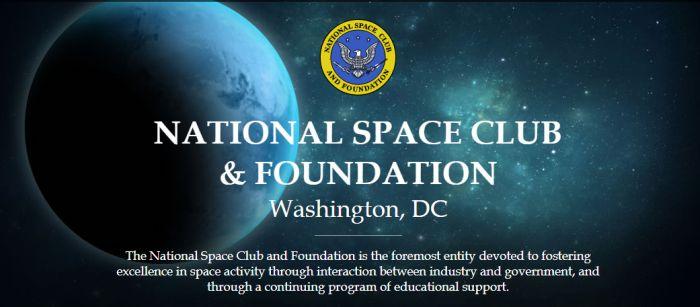 National Space Club and Foundation Keynote Scholar Program 2019