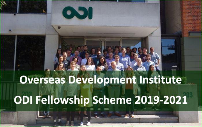 ODI Fellowship Scheme 2019-2021