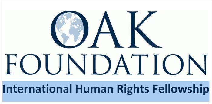 Oak Foundation International Human Rights Fellowship