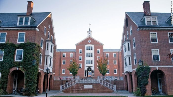 Smith College Acceptance Rate 2018-19