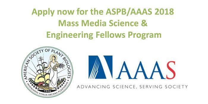 AAAS Mass Media Science & Engineering Fellows program