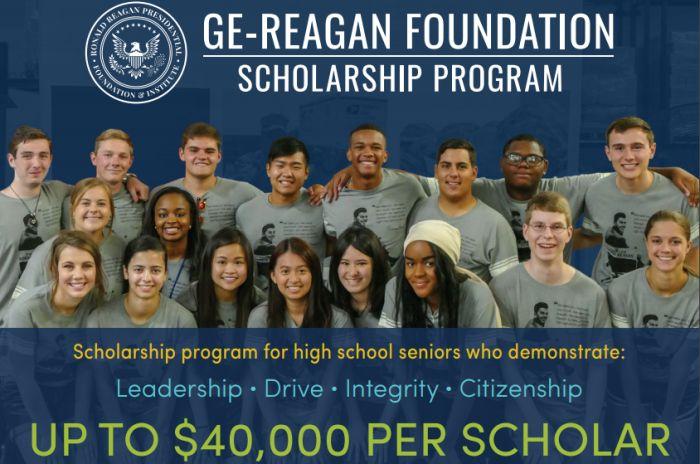 GE-Reagan Foundation Scholarship Program
