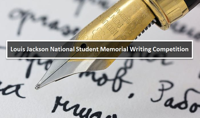 Louis Jackson National Student Memorial Writing Competition
