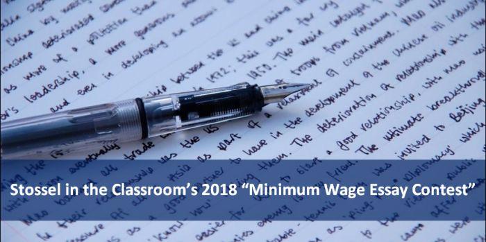 Minimum Wage Essay Contest