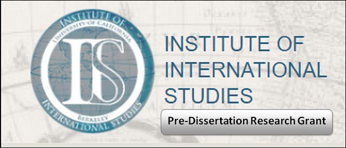 Pre-Dissertation Research Grant