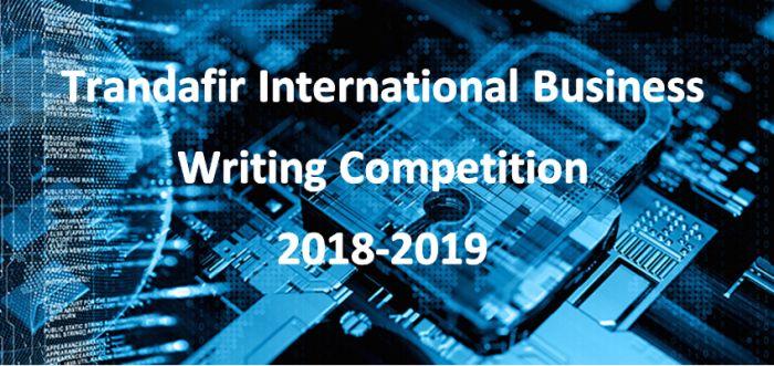 Trandafir International Business Writing Competition