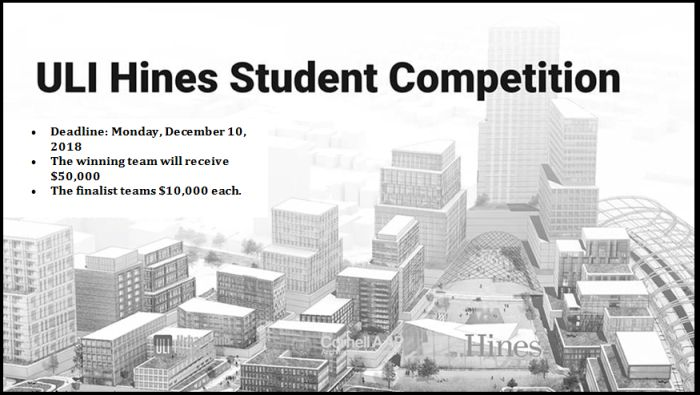 ULI Hines Student Competition 2019