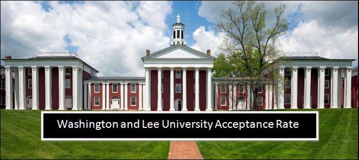 Washington and Lee University Acceptance Rate