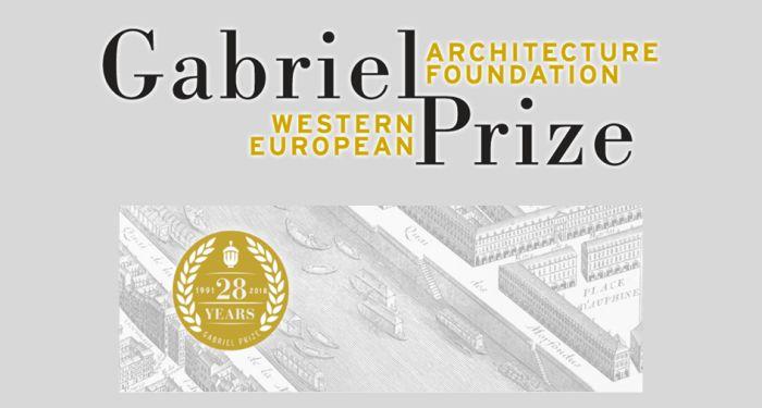 Western European Architecture Foundation Gabriel Prize 2019