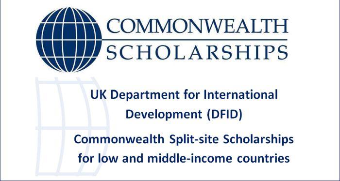 DFID Commonwealth Split-Site Scholarships
