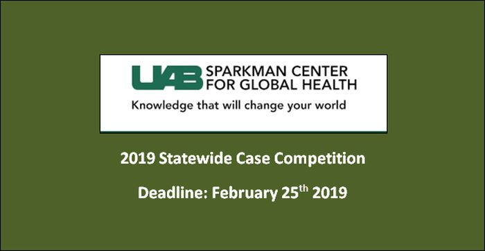 2019 Statewide Case Competition