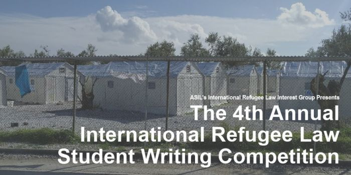 Annual International Refugee Law Student Writing Competition