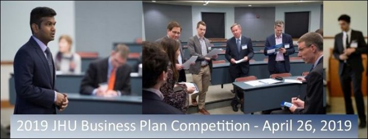 Annual JHU Business Plan Competition