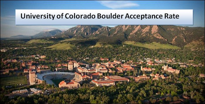 University of Colorado Boulder Acceptance Rate