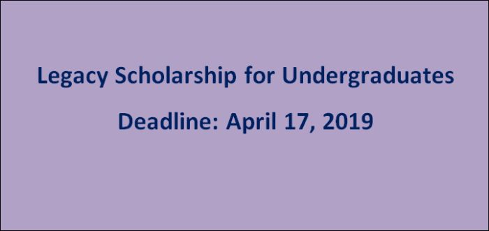 Legacy Scholarship for Graduate Students