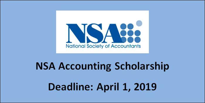 NSA Accounting Scholarship
