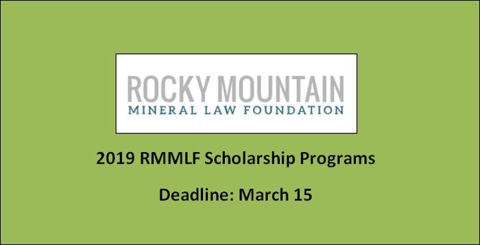 RMMLF Scholarship Programs