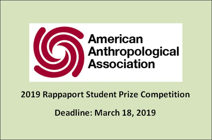 Rappaport Student Prize Competition