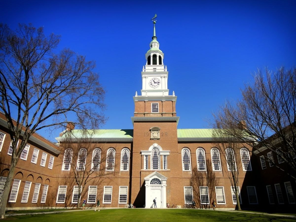 Rhodes Scholarships at Dartmouth College