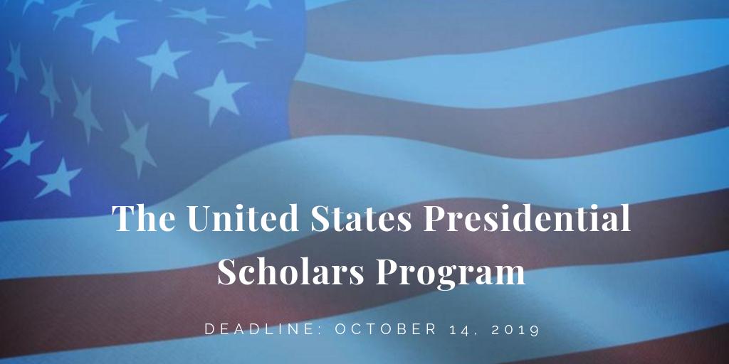The United States Presidential Scholars Program