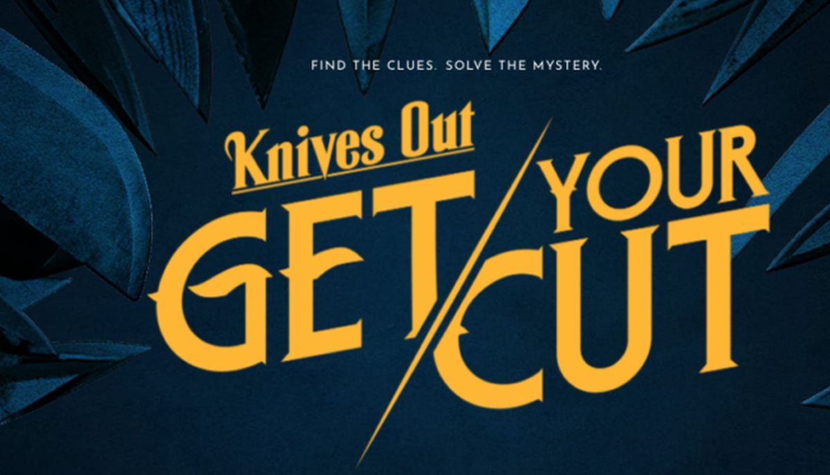 knives Out Get Your Cut Sweepstake