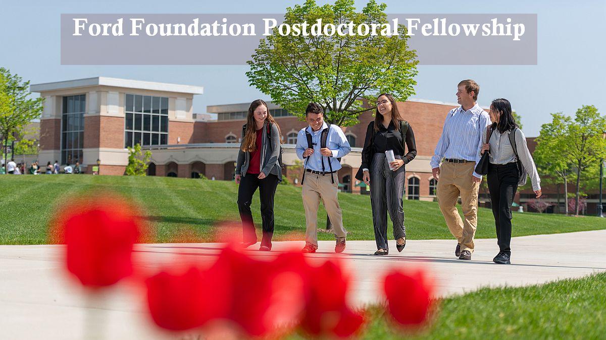 Ford Foundation Postdoctoral Fellowship