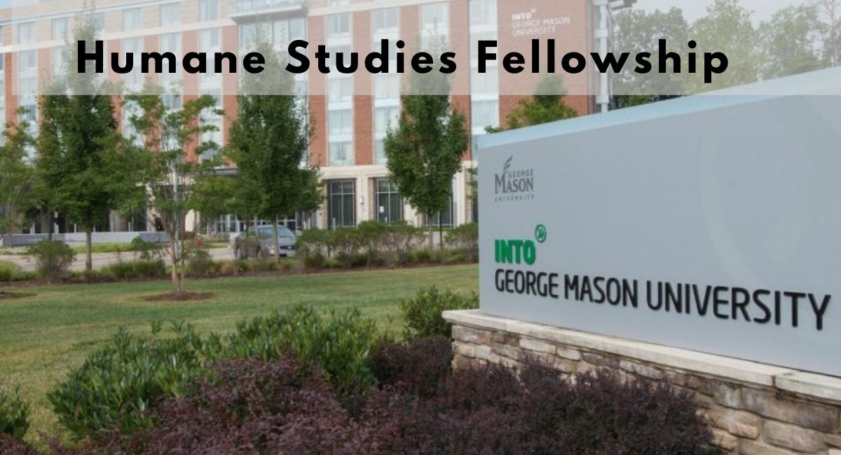 Humane Studies Fellowship