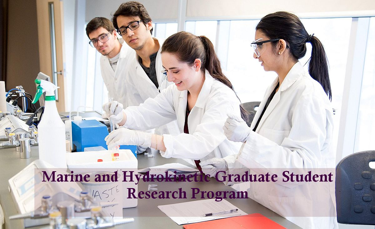 Marine and Hydrokinetic Graduate Student Research Program