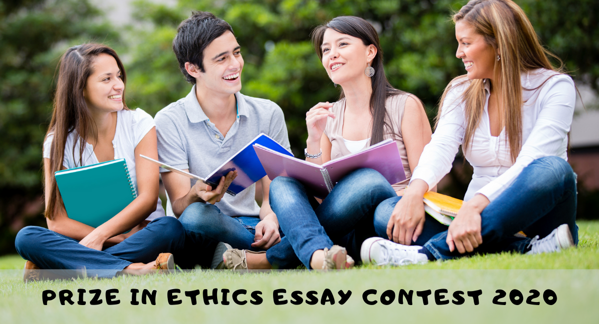 Prize in Ethics Essay Contest 2020