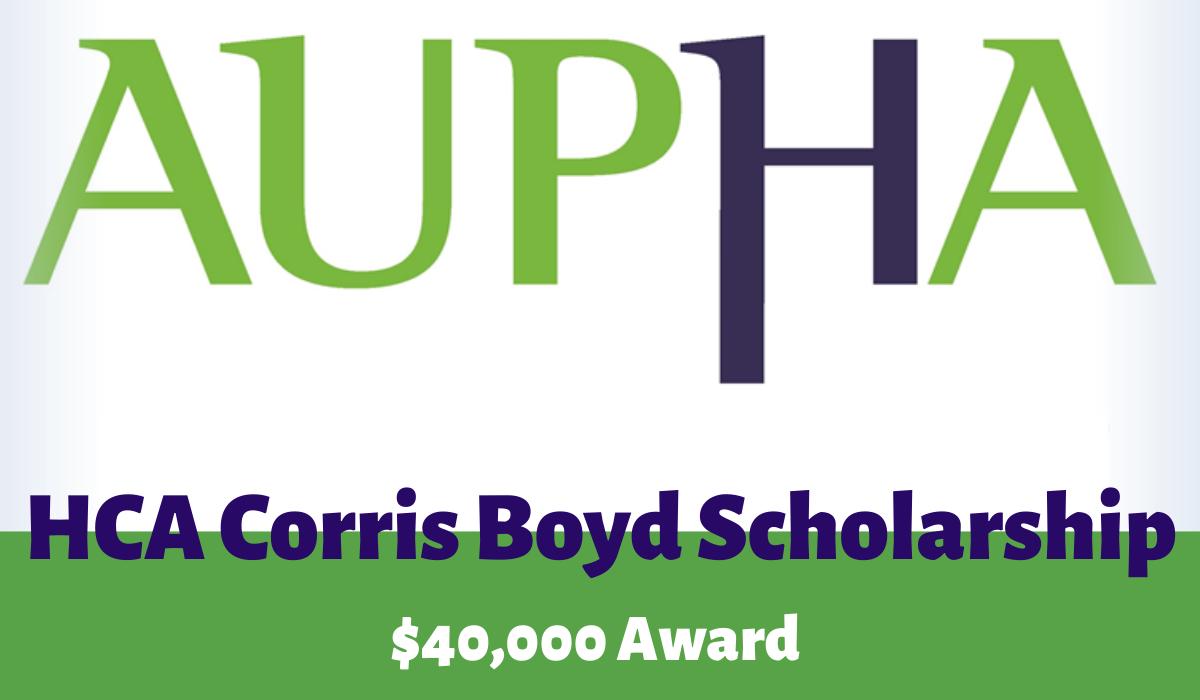 HCA Corris Boyd Scholarship