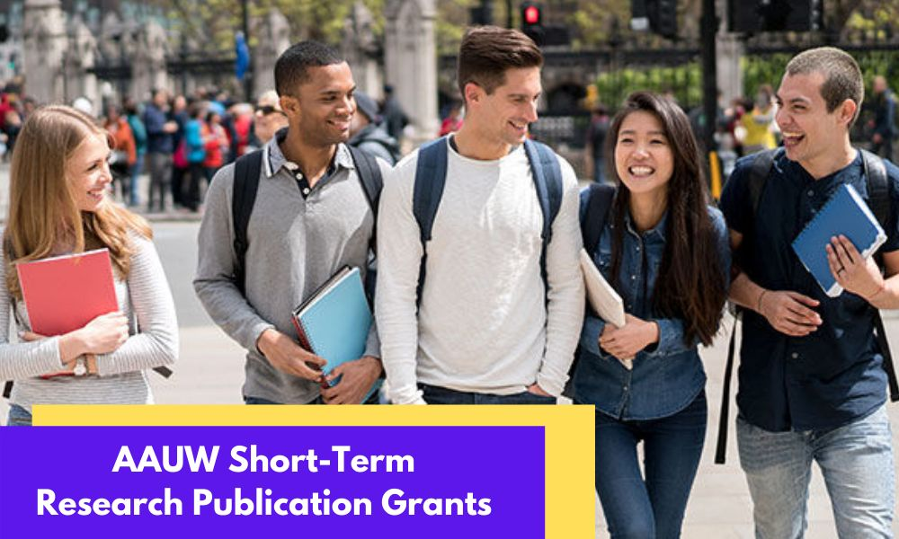 AAUW Short-Term Research Publication Grants