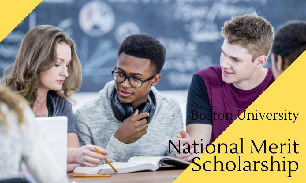 Boston University National Merit Scholarship