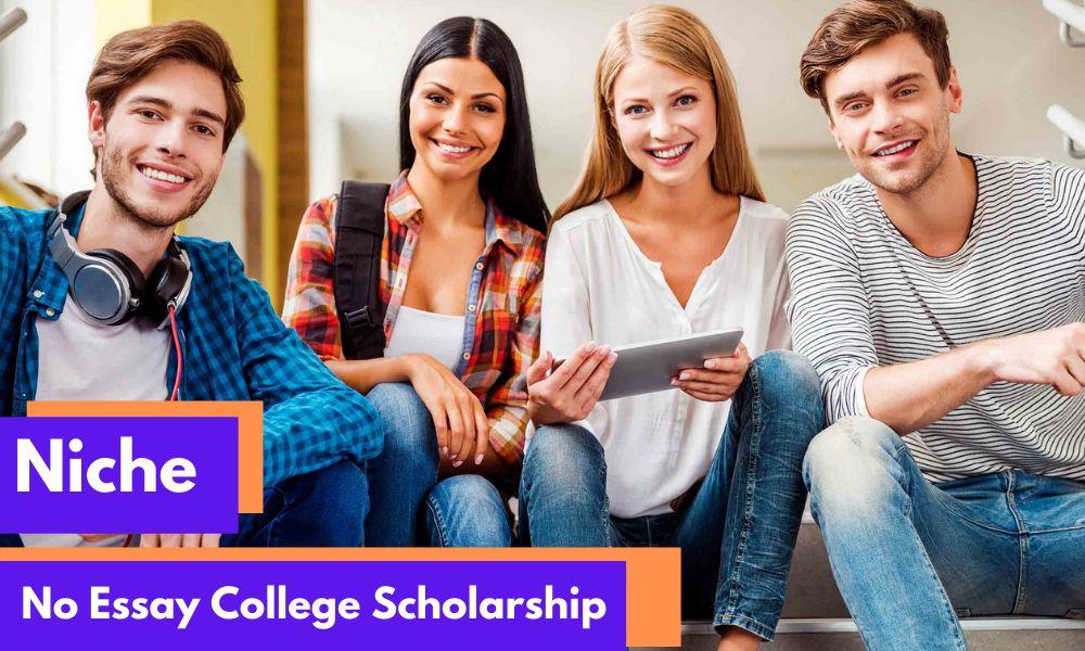 Niche No Essay College Scholarship