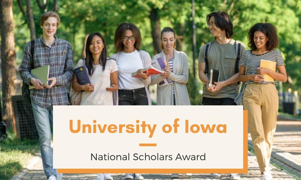 University of Iowa National Scholars Award