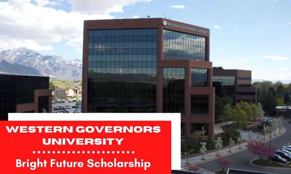 Western Governors University Bright Future Scholarship