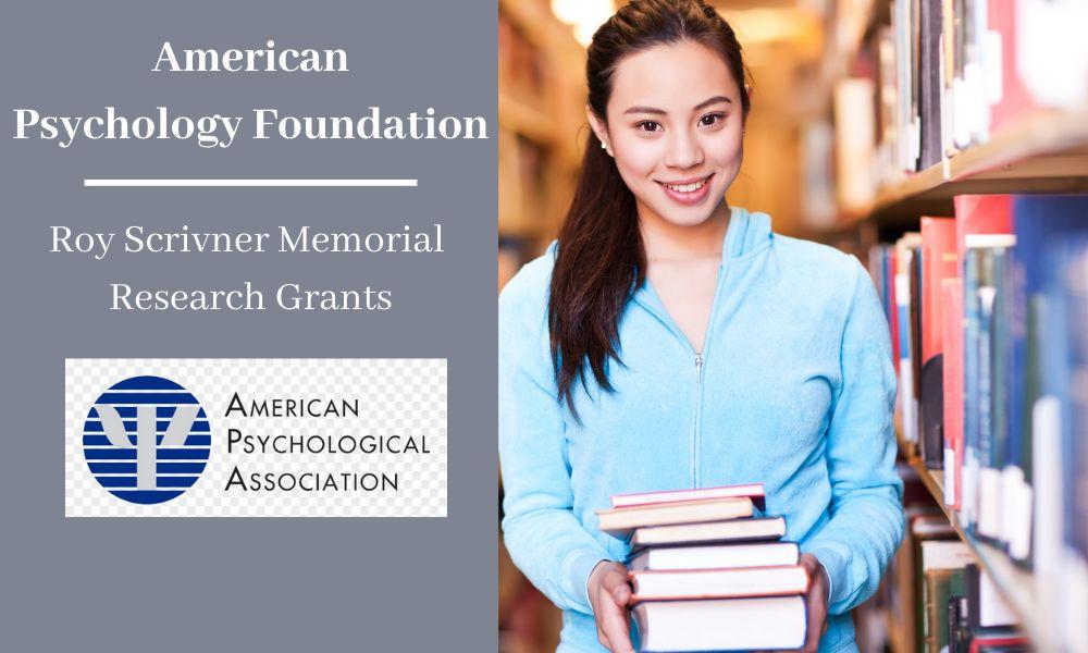 APF Roy Scrivner Memorial Research Grants