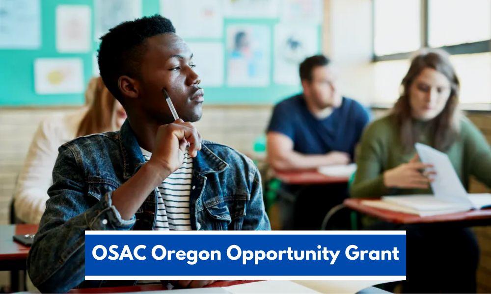 OSAC Oregon Opportunity Grant