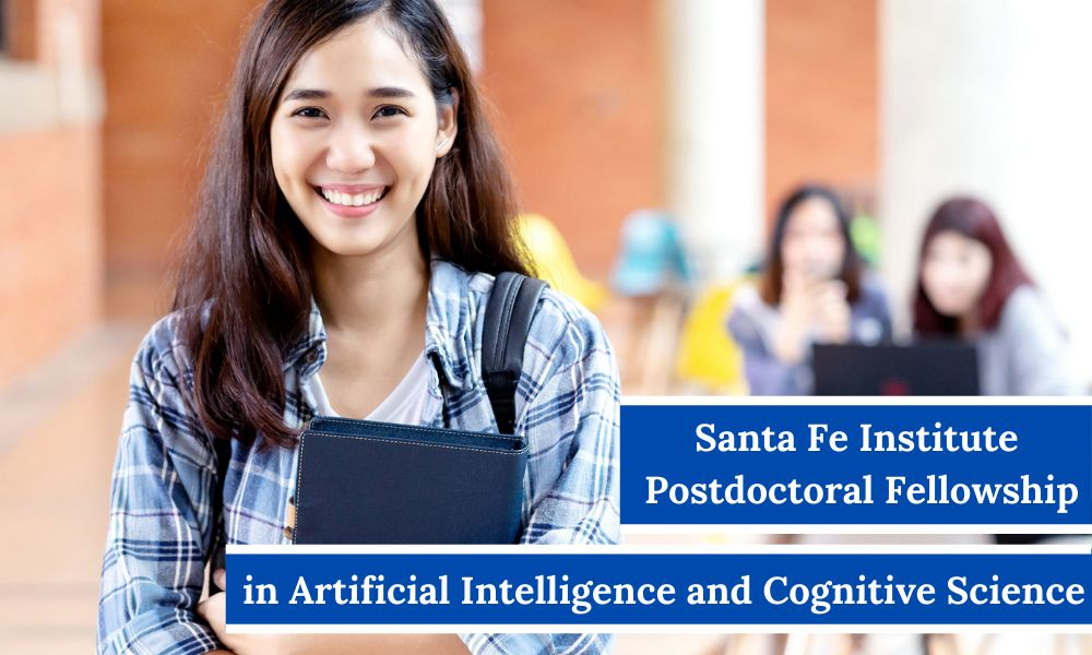 Santa Fe Institute Postdoctoral Fellowship in Artificial Intelligence and Cognitive Science