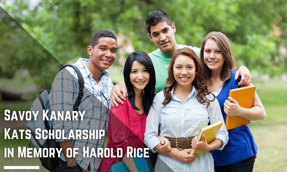 Savoy Kanary Kats Scholarship in Memory of Harold Rice