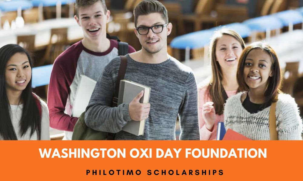 Washington Oxi Day Foundation Philotimo Scholarships 2020