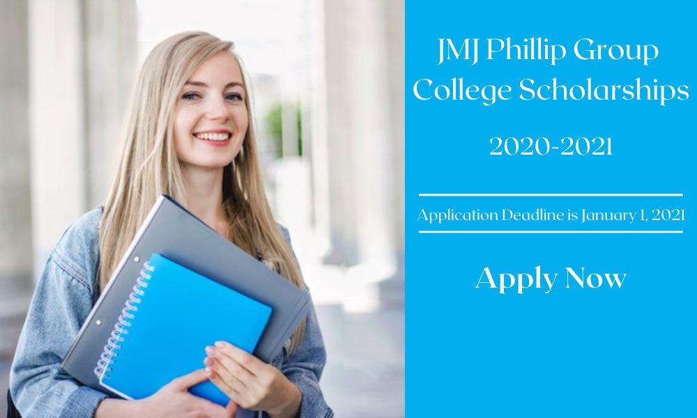 JMJ Phillip Group College Scholarships