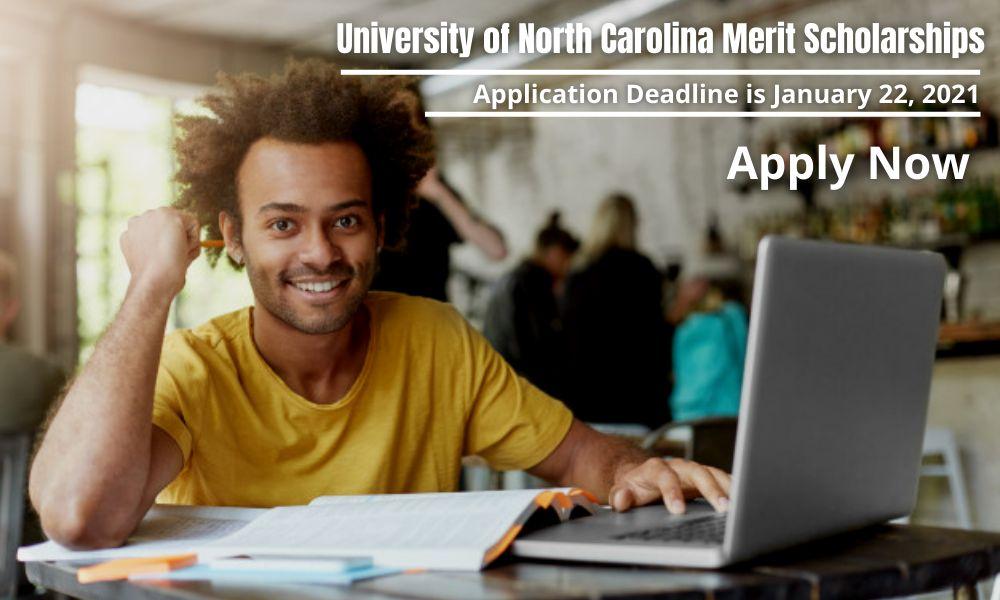 University of North Carolina Merit Scholarships