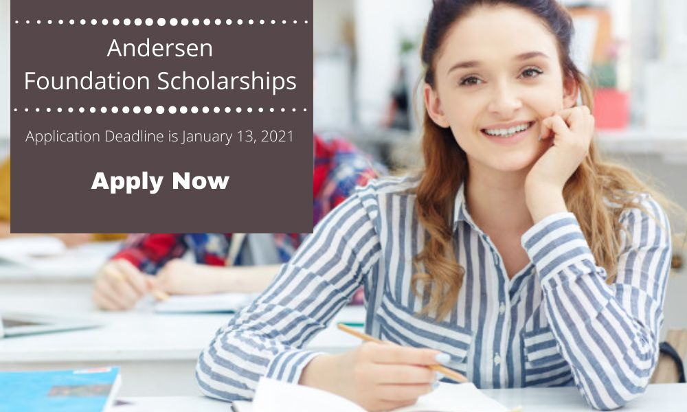 Andersen Foundation Accounting Scholarship Programs