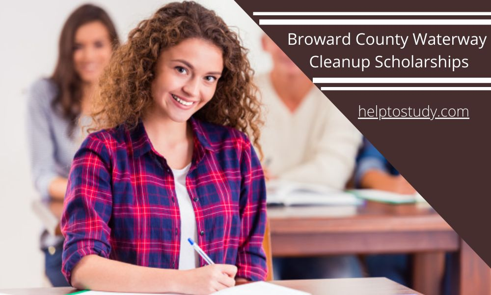 Broward County Waterway Cleanup Scholarships for High School Seniors