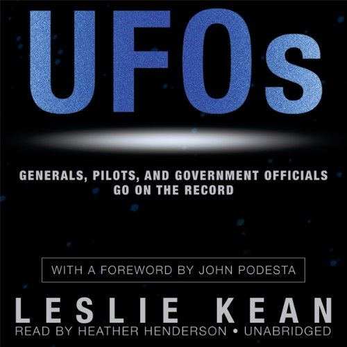 UFOs: Generals, Pilots, and Government Officials Go on the Record Audible Logo Audible Audiobook – Unabridged
