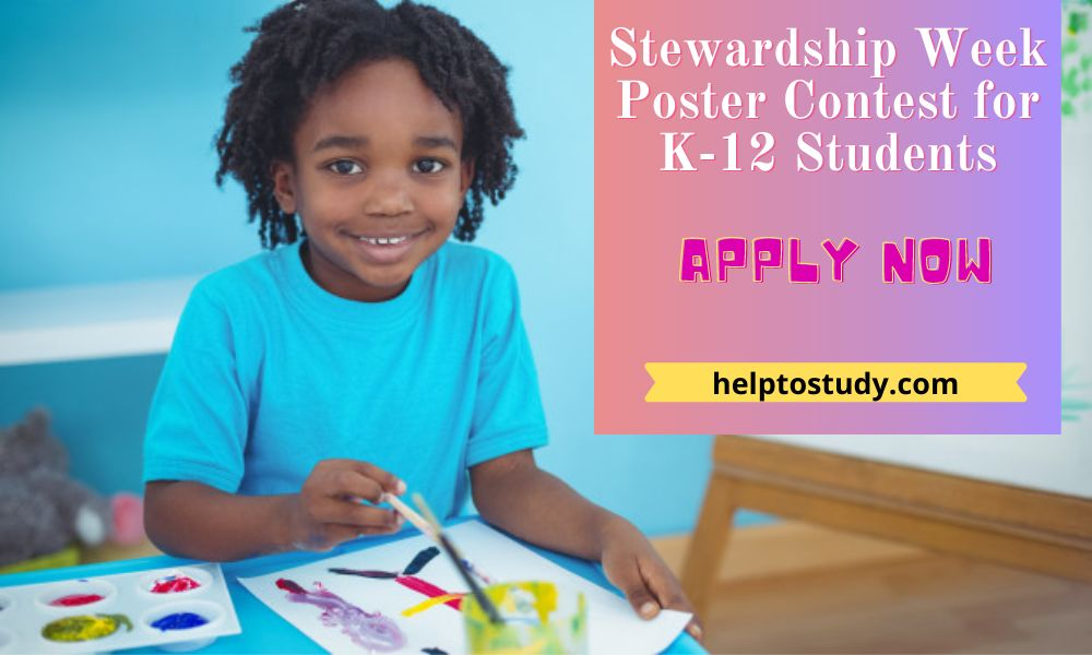 2021 Stewardship Week Poster Contest for K-12 Students