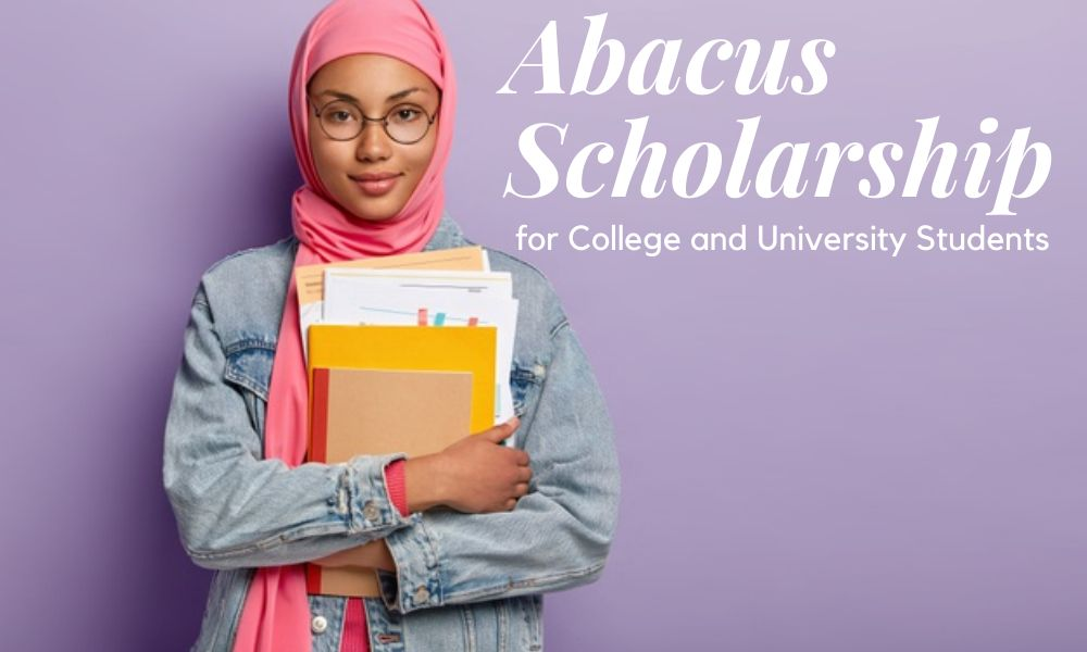 Abacus Scholarship for College and University Students