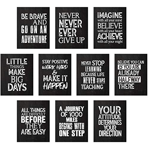 Affirmative Motivational Short Quotes Posters