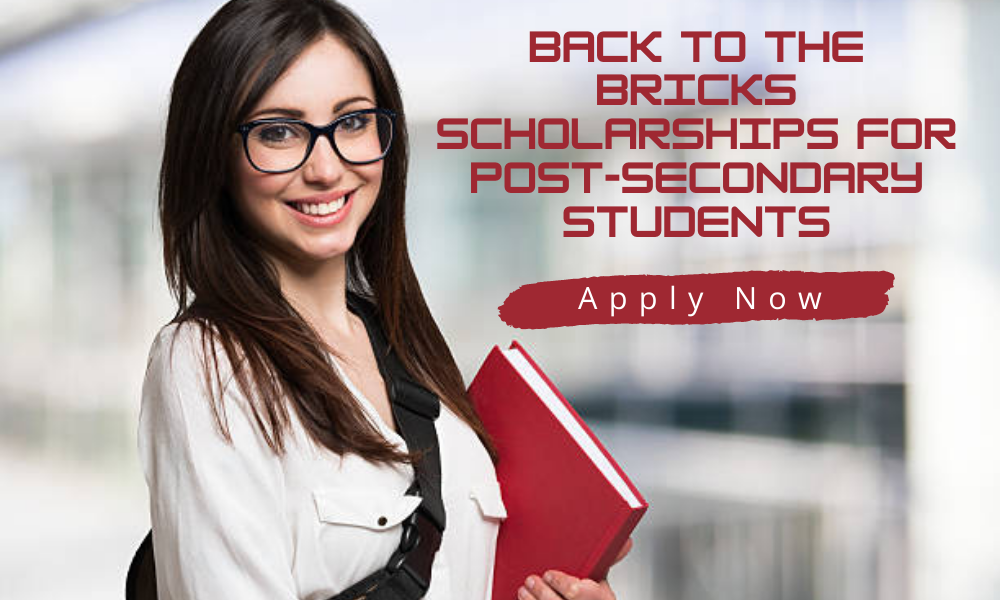 Back to the Bricks Scholarships for Post-Secondary Students